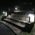Outdoor lighting installation by Kent Electrical and Fire Ltd