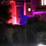 Outdoor Garden Lights Installation by Kent Electrical & Fire