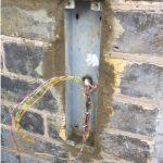 Door entry system using an audio intercom