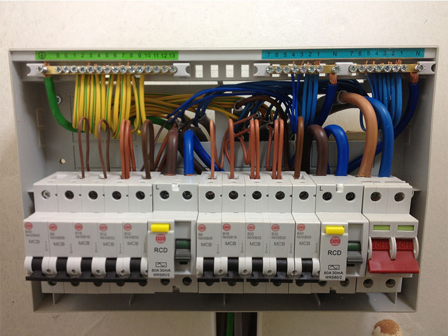 New Consumer Unit installation by our electricians in Kent